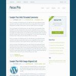 Focus Pro by StudioPress