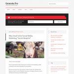 Generate Pro by StudioPress