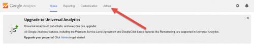 Google Analytics Upgrade To Universal Analytics Notice
