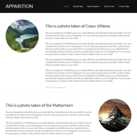 Apparition Child Theme for the Genesis Framework by StudioPress