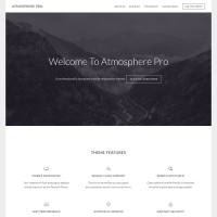 Atmosphere Pro Child Theme for the Genesis Framework by StudioPress