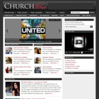Church Child Theme for the Genesis Framework by StudioPress