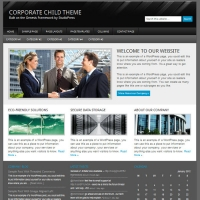 Corporate Child Theme for the Genesis Framework by StudioPress