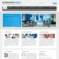 Enterprise Child Theme for the Genesis Framework by StudioPress