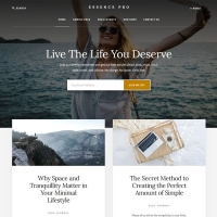 Essence Pro Child Theme for the Genesis Framework by StudioPress