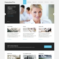 Executive Pro Child Theme for the Genesis Framework by StudioPress