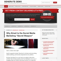Generate Child Theme for the Genesis Framework by StudioPress