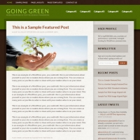 Going Green 2 Child Theme for the Genesis Framework by StudioPress