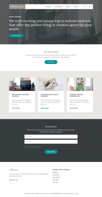 Interior Pro Child Theme for the Genesis Framework by StudioPress - Full View