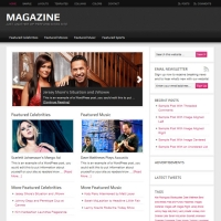 Magazine Child Theme for the Genesis Framework by StudioPress