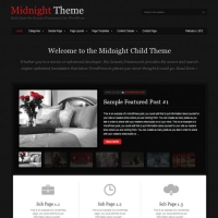 Midnight Child Theme for the Genesis Framework by StudioPress