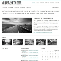 Minimum Child Theme for the Genesis Framework by StudioPress