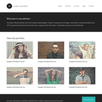 Modern Portfolio Child Theme for the Genesis Framework by StudioPress