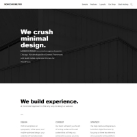 Monochrome Pro Child Theme for the Genesis Framework by StudioPress