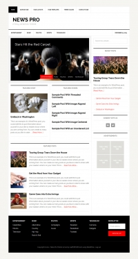 News Pro Child Theme for the Genesis Framework by StudioPress - Full View