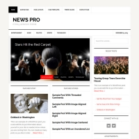 News Pro Child Theme for the Genesis Framework by StudioPress