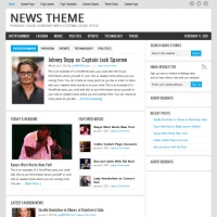 News Child Theme for the Genesis Framework by StudioPress