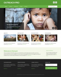 Outreach Pro Child Theme for the Genesis Framework by StudioPress - Full View