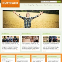 Outreach Child Theme for the Genesis Framework by StudioPress