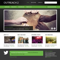 Outreach 2 Child Theme for the Genesis Framework by StudioPress