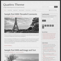 Quattro Child Theme for the Genesis Framework by StudioPress