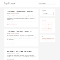 Sample Child Theme for the Genesis Framework by StudioPress