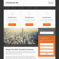 Streamline Pro Child Theme for the Genesis Framework by StudioPress