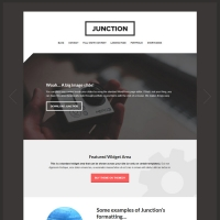 Junction Child Theme for the Genesis Framework by Themedy
