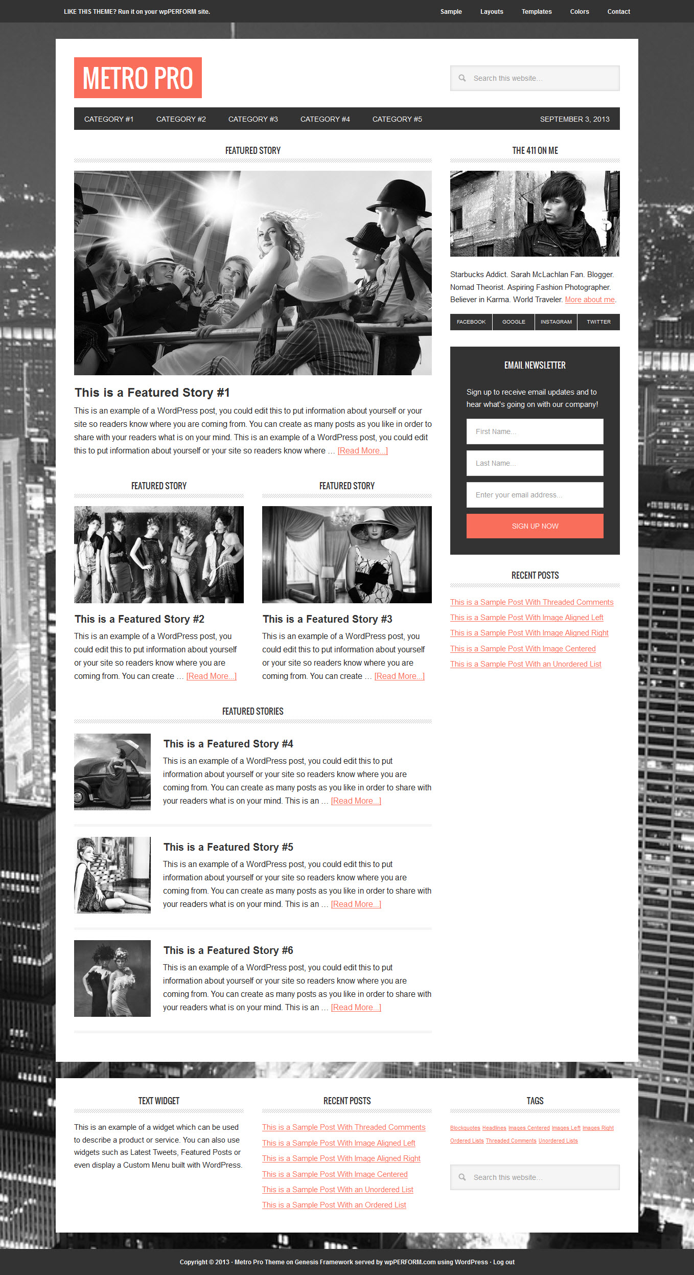 studiopress metro pro theme for wordpress