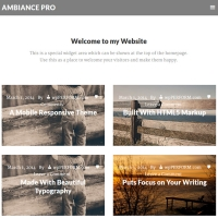 Ambiance Pro Child Theme for the Genesis Framework by StudioPress