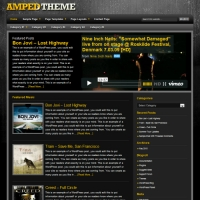 Amped Child Theme for the Genesis Framework by StudioPress