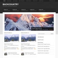 Backcountry Child Theme for the Genesis Framework by StudioPress