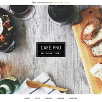 Café Pro Child Theme for the Genesis Framework by StudioPress