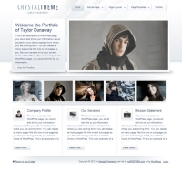 Crystal Child Theme for the Genesis Framework by StudioPress