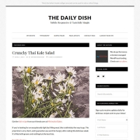 Daily Dish Pro Child Theme for the Genesis Framework by StudioPress