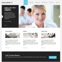 Executive 2 Child Theme for the Genesis Framework by StudioPress
