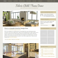 Fabric Child Theme for the Genesis Framework by StudioPress