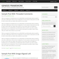 Fairway Free Genesis Child Theme by StudioPress