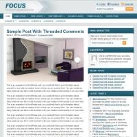 Focus Child Theme for the Genesis Framework by StudioPress