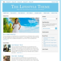 Lifestyle Child Theme for the Genesis Framework by StudioPress