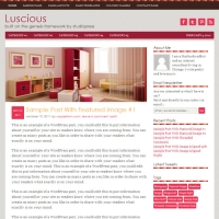 Luscious Child Theme for the Genesis Framework by StudioPress