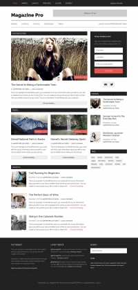 Magazine Pro Child Theme for the Genesis Framework by StudioPress - Full View