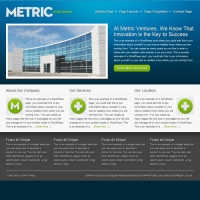 Metric Child Theme for the Genesis Framework by StudioPress