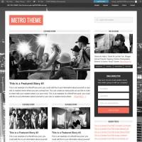 Metro Child Theme for the Genesis Framework by StudioPress