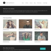 Modern Portfolio Pro Child Theme for the Genesis Framework by StudioPress