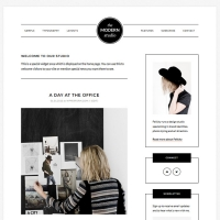 Modern Studio Pro Child Theme for the Genesis Framework by StudioPress