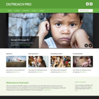 Outreach Pro Child Theme for the Genesis Framework by StudioPress