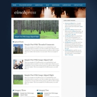 CinchPress Child Theme for the Genesis Framework by Themedy