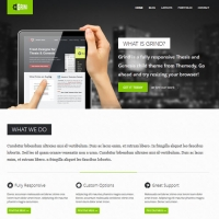 Grind Child Theme for the Genesis Framework by Themedy