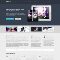 Line It Up Child Theme for the Genesis Framework by Themedy